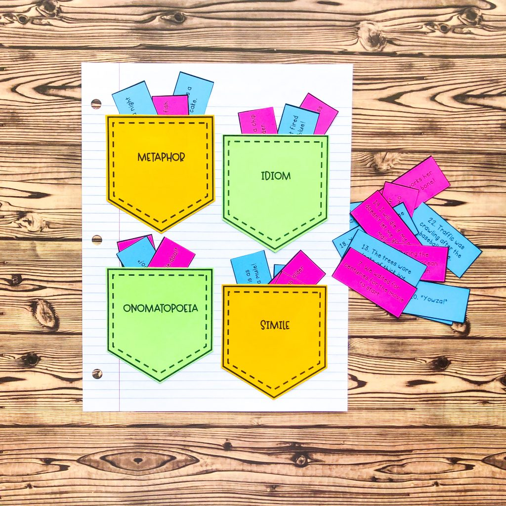 figurative-language-worksheet-sort