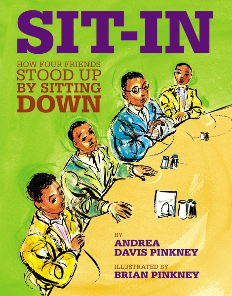 Sit In read aloud Picture books to teach Civil Rights Movement