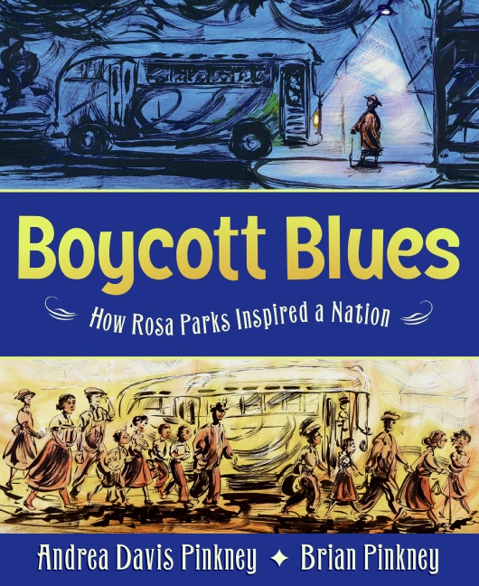Boycott Blues picture book to teach teh Civil Rights Movement