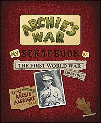 Archie's War by Marcia Williams WW1 picture books