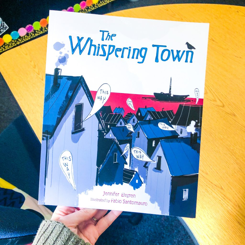 The Whispering Town World War 2 picture book