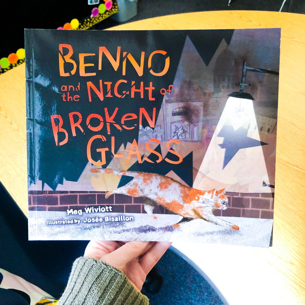 Benno and the Night of Broken Glass WW2 picture book for children