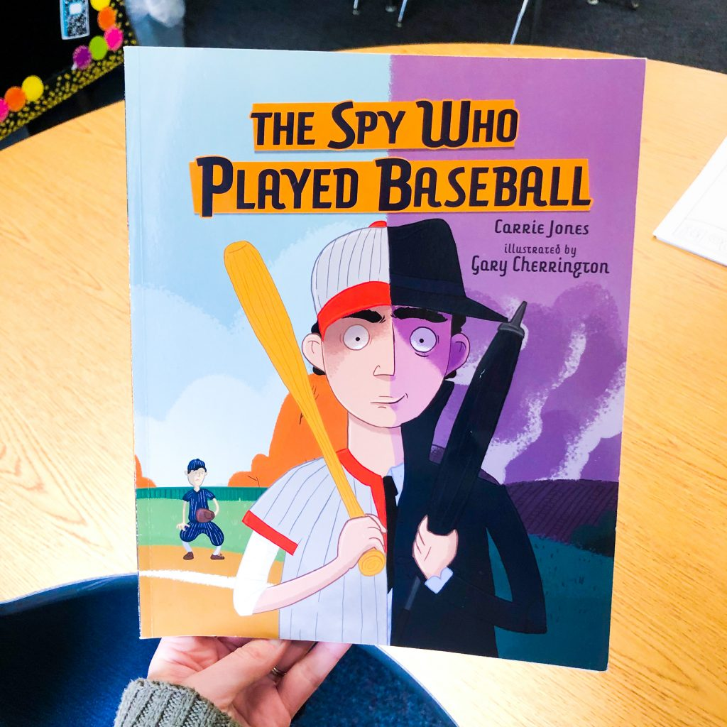 The Spy Who Played Baseball WW2 picture books